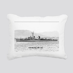beatty postcard Rectangular Canvas Pillow