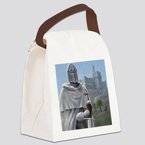 templar citadel 1 squ Canvas Lunch Bag