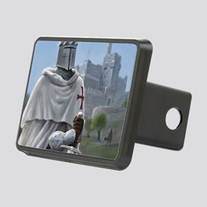 templar citadel 1 squ Rectangular Hitch Cover