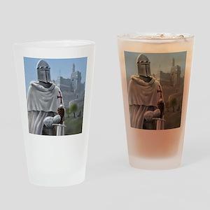 templar citadel 1 squ Drinking Glass