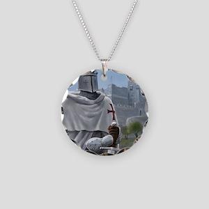 templar citadel 1 squ Necklace Circle Charm