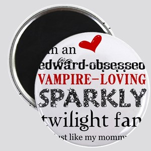 Sparkly Fan 2 Magnet