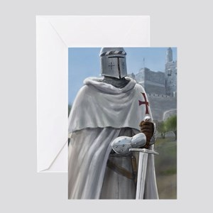 templar citadel 1 journal Greeting Card