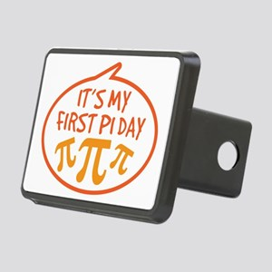 Babys First Pi Day Rectangular Hitch Cover