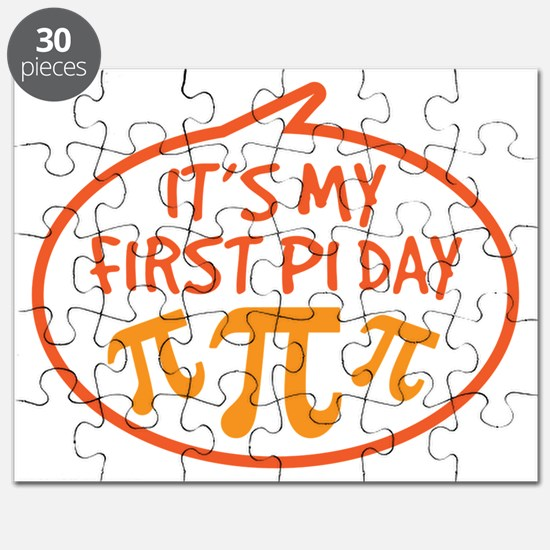 Babys First Pi Day Puzzle