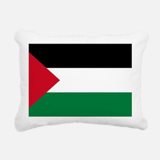 palestine-flag4000w Rectangular Canvas Pillow