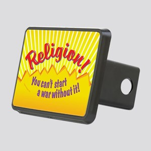 Religion-You Cant Start a  Rectangular Hitch Cover
