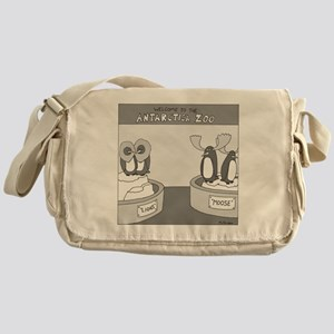 Antarctica Zoo Messenger Bag
