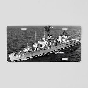 benner ddr greeting card Aluminum License Plate