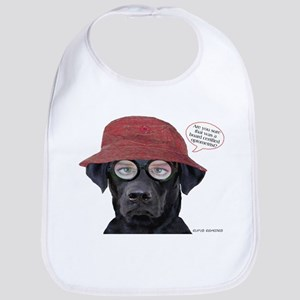 Black Lab Optometrist Bib