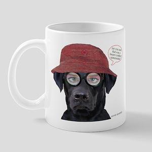 Black Lab Optometrist Mug