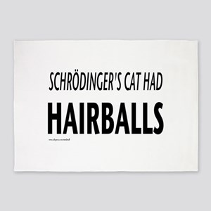 Schrodingers cat 5'x7'Area Rug