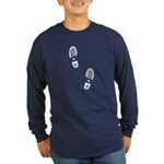 Boot Tracks Long Sleeve Dark T-Shirt