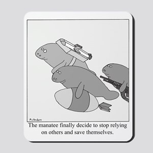 Save the Manatee Mousepad
