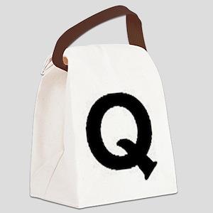 Q Canvas Lunch Bag