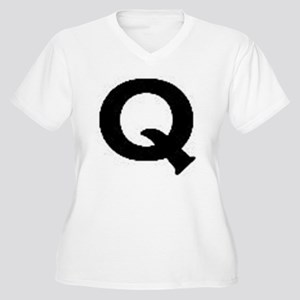 Q Women's Plus Size V-Neck T-Shirt