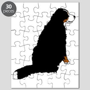 Sitting Bernese Mountain Dog (no-logo)01 Puzzle