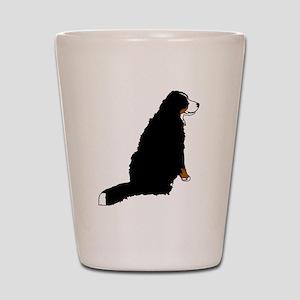 Sitting Bernese Mountain Dog (no-logo)0 Shot Glass