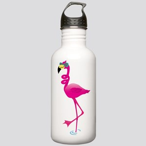 Cool Pink Flamingo Stainless Water Bottle 1.0L