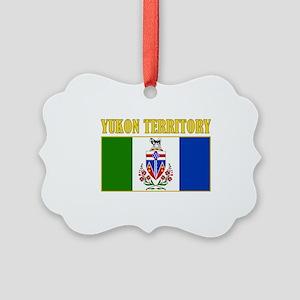 Yukon Territory-Flag Picture Ornament