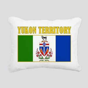 Yukon Territory-Flag Rectangular Canvas Pillow