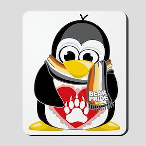 Bear-Pride-Penguin-Scarf Mousepad