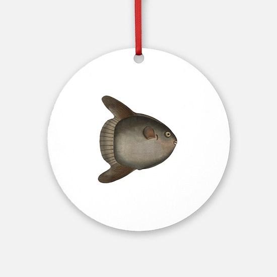 Mola Mola Giant Ocean Sunfish Round Ornament