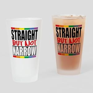 Straingt-But-Not-Narrow Drinking Glass