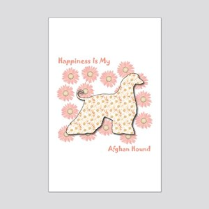 Afghan Happiness Mini Poster Print
