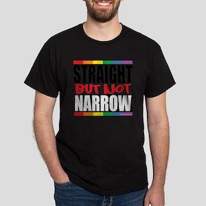 Straingt-But-Not-Narrow Dark T-Shirt