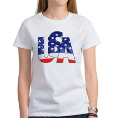 USA logo Women's T-Shirt