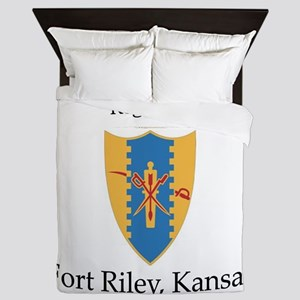 1st Squadron 4th Cav Queen Duvet
