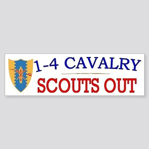 1st Squadron 4th Cav cap2 Sticker (Bumper)