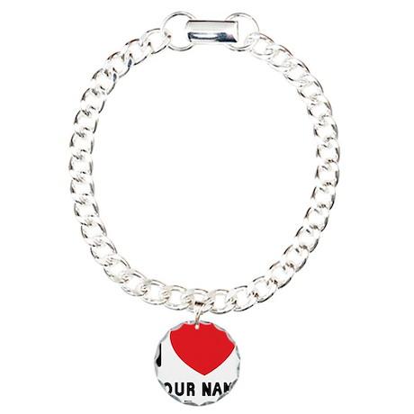 happyvalyourname Charm Bracelet, One Charm