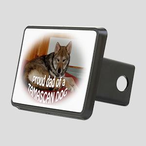 tamascan dog dad Rectangular Hitch Cover