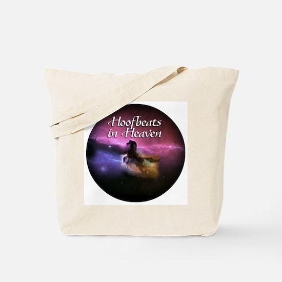 Hoofbeats In Heaven Tote Bag
