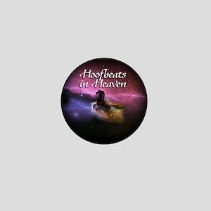 Hoofbeats In Heaven Mini Button