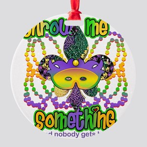 throwMEsomeFTR Round Ornament