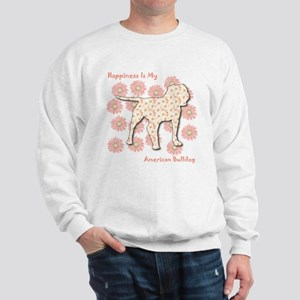 Bulldog Happiness Sweatshirt