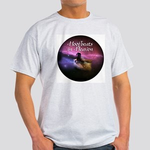 Hoofbeats In Heaven Ash Grey T-Shirt