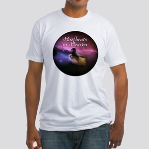Hoofbeats In Heaven Fitted T-Shirt