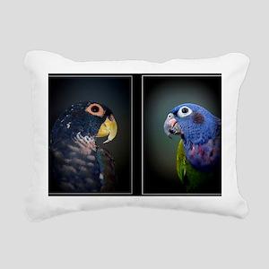 2pis2 Rectangular Canvas Pillow