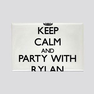 Keep Calm and Party with Rylan Magnets