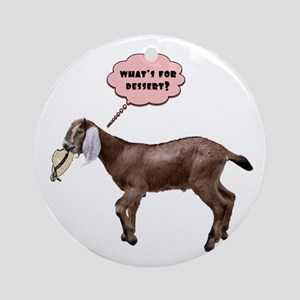 goat meal Ornament (Round)