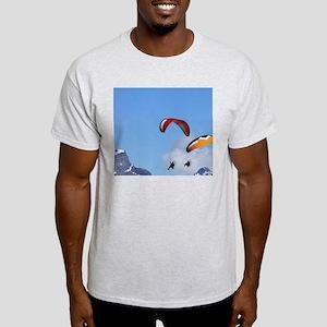 Paramotor and Mt Chaos, Paradise, ne Light T-Shirt