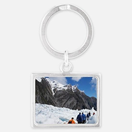 Franz Josef Glacier Landscape Keychain
