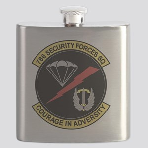 786th Security Forces Squadron Flask