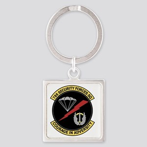 786th Security Forces Squadron Square Keychain