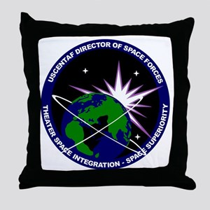 Director of Space Forces Throw Pillow