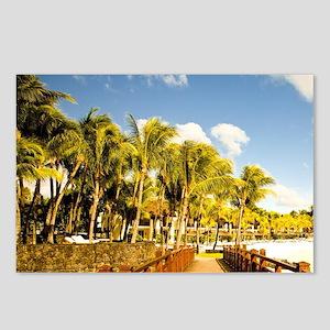 Exclusive Luxury resort L Postcards (Package of 8)